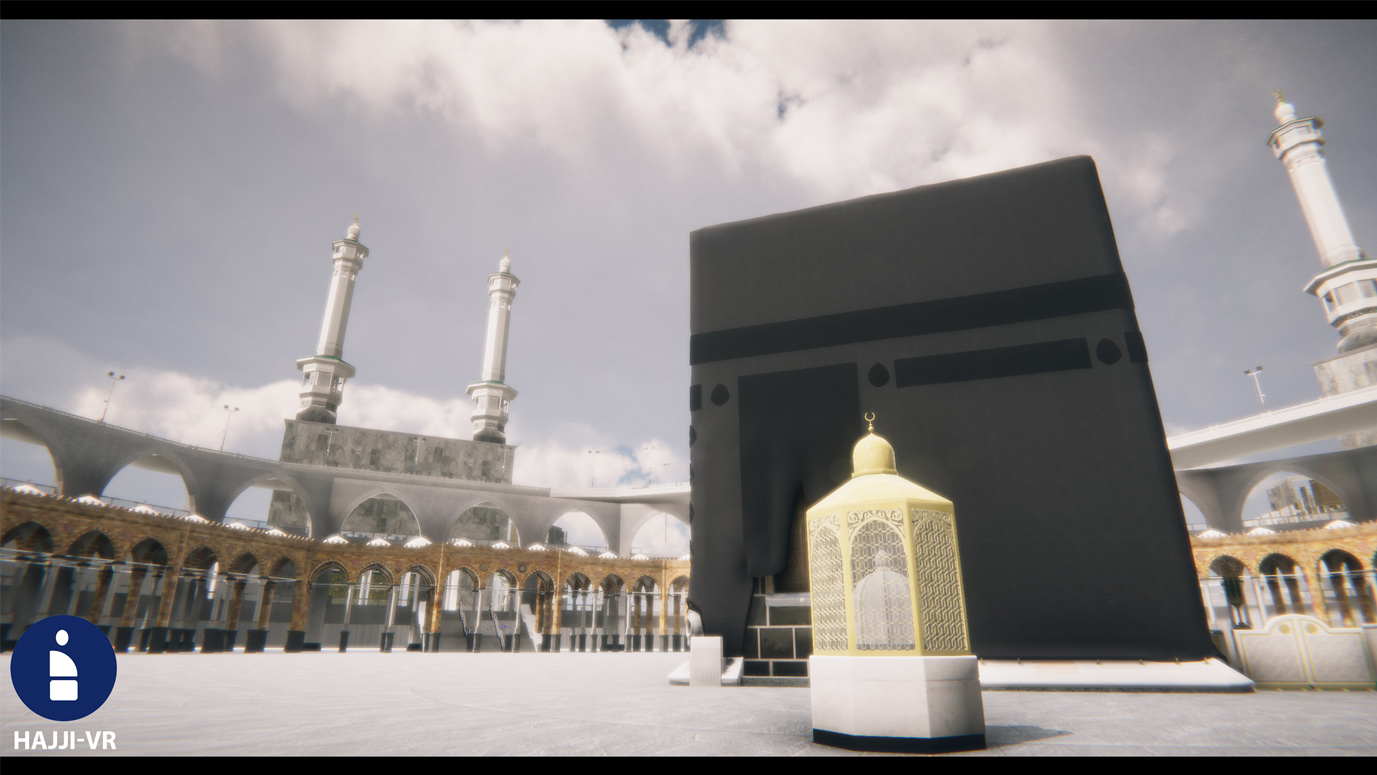 Learn the rites of Hajj and Umrah in virtual reality!
